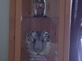 White Tiger on Oriental Vase