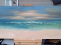 Beach scene - unfinished